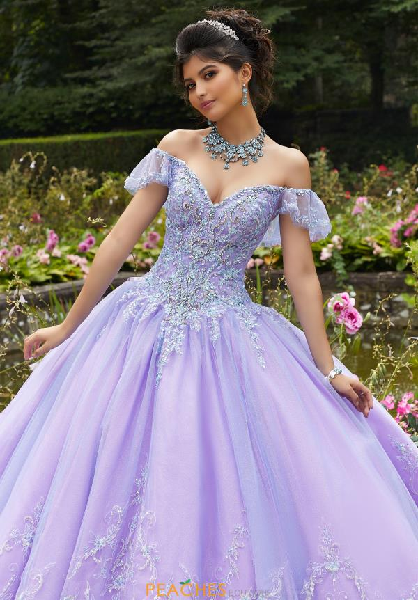 Vizcaya Quinceanera Tulle Skirt Ball Gown 89271