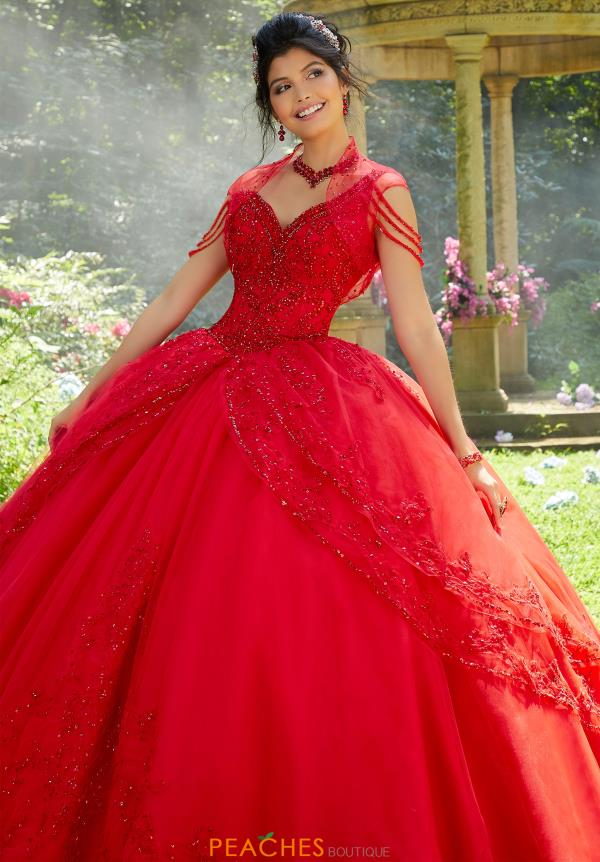 Vizcaya Quinceanera Tulle Skirt Ball Gown 89274