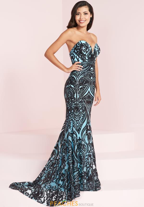 Panoply Strapless Long Dress 14006