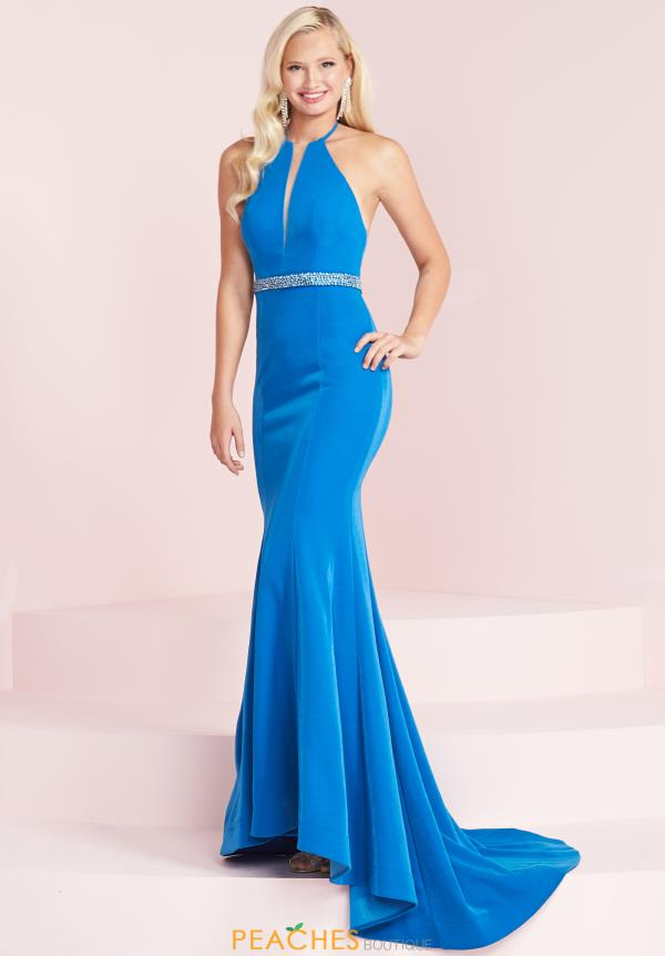 Panoply Long Fitted Dress 14017