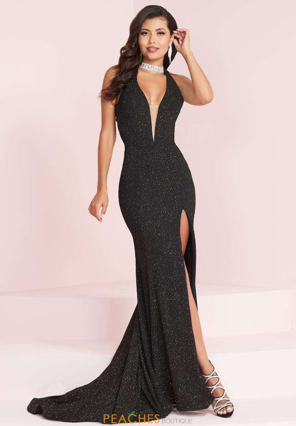 Panoply V- Neckline Fitted Dress 14030