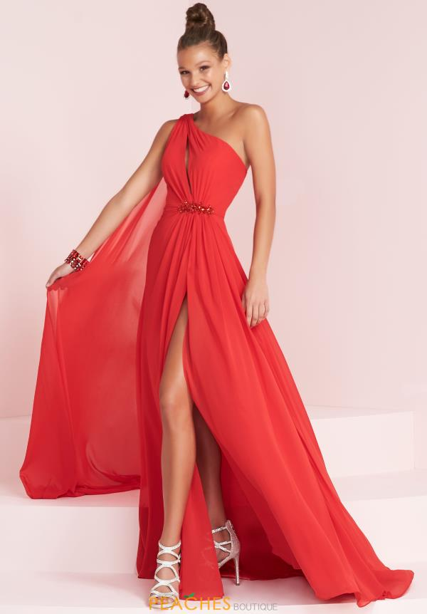 Panoply One Shoulder Long Dress 14033