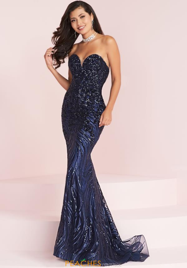 Panoply Strapless Fitted Dress 14035