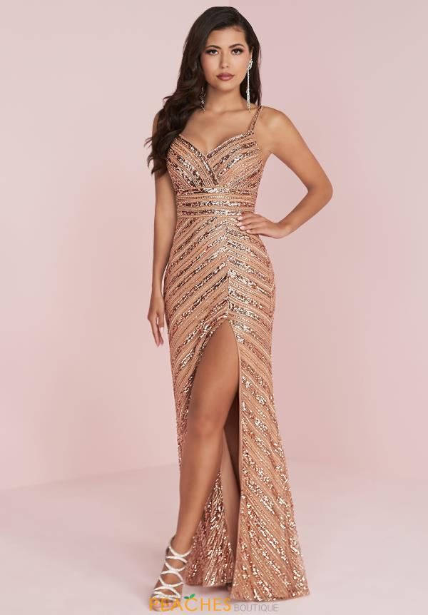Panoply Long Sequins Dress 14041