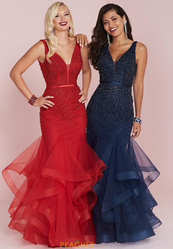 Panoply Beaded Fitted Dress 14044