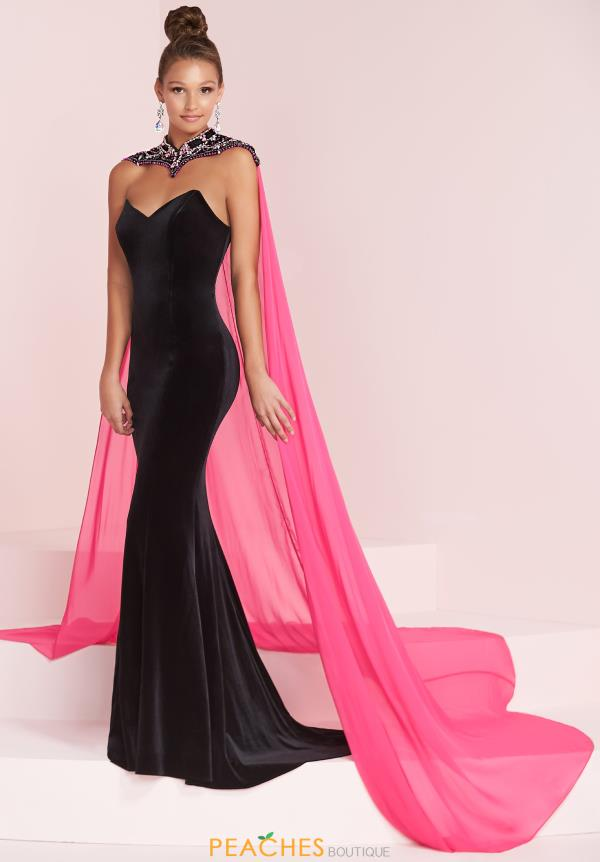 Panoply Long Fitted Dress 14046