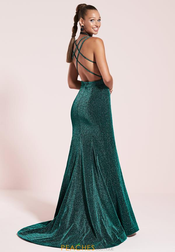 Studio 17 Sexy Open Back Dress 12810
