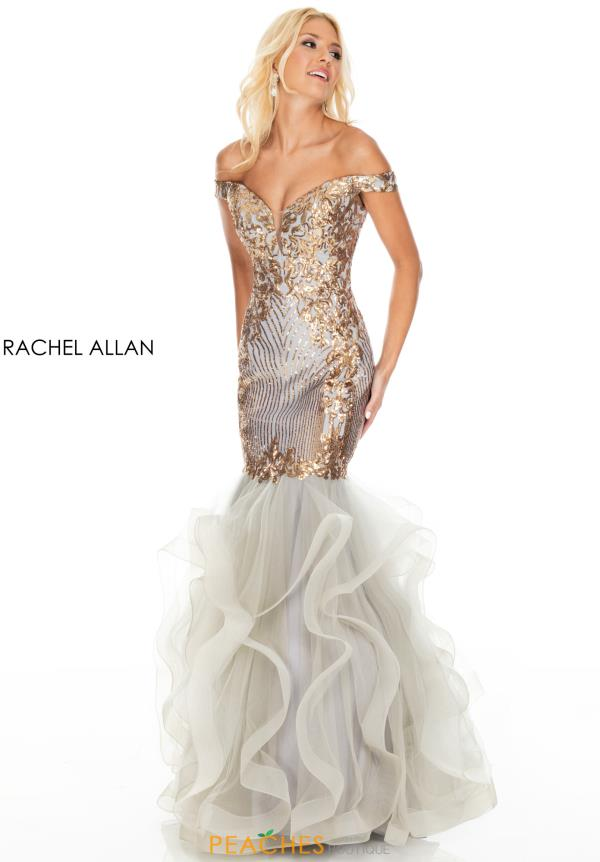 Rachel Allan Long Mermaid Dress 7004