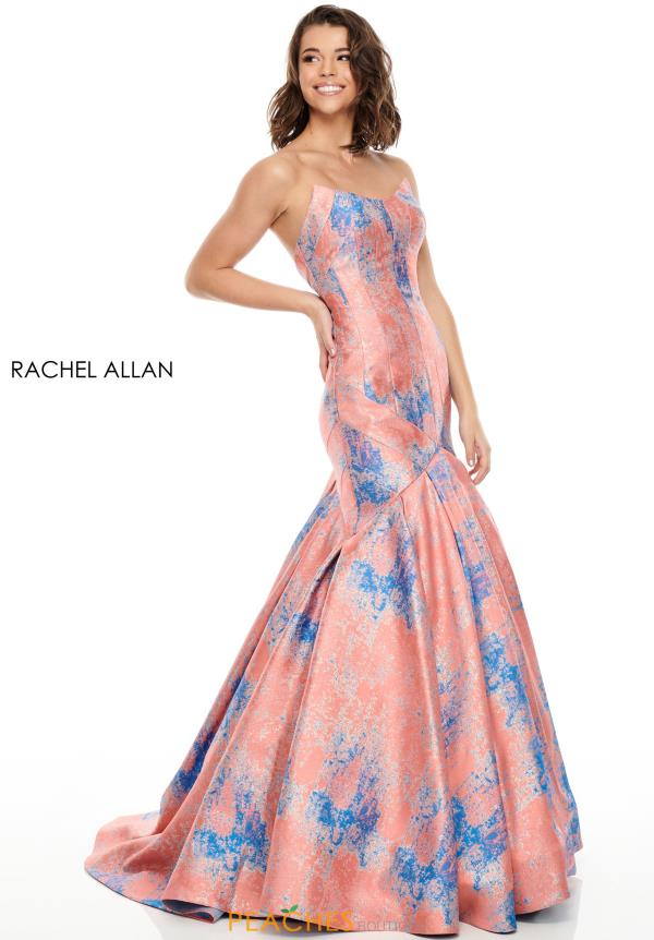 Rachel Allan Long Mermaid Dress 7032