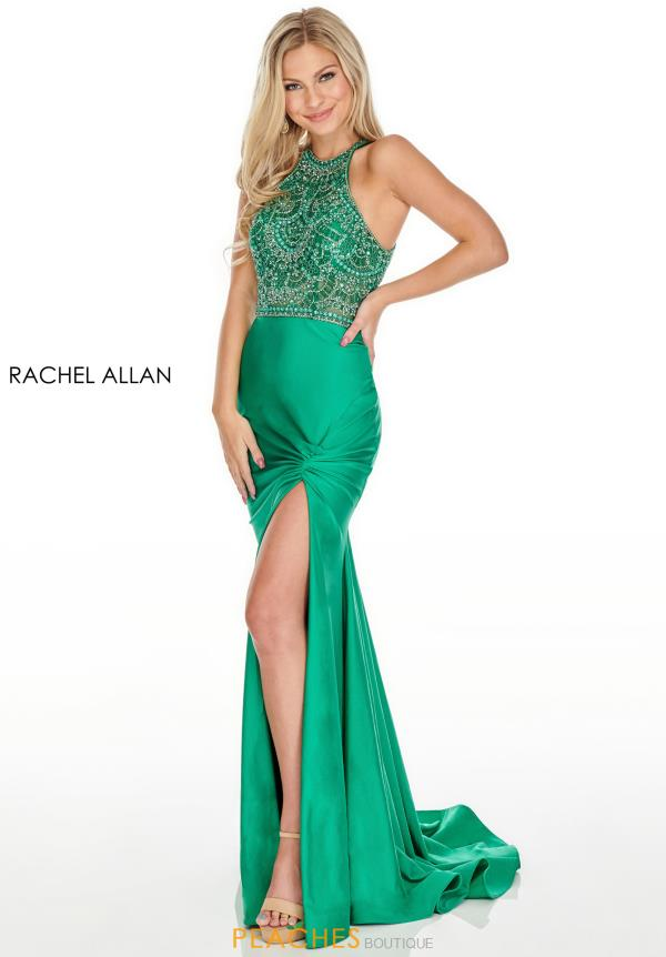 Rachel Allan Long FItted Dress 7053