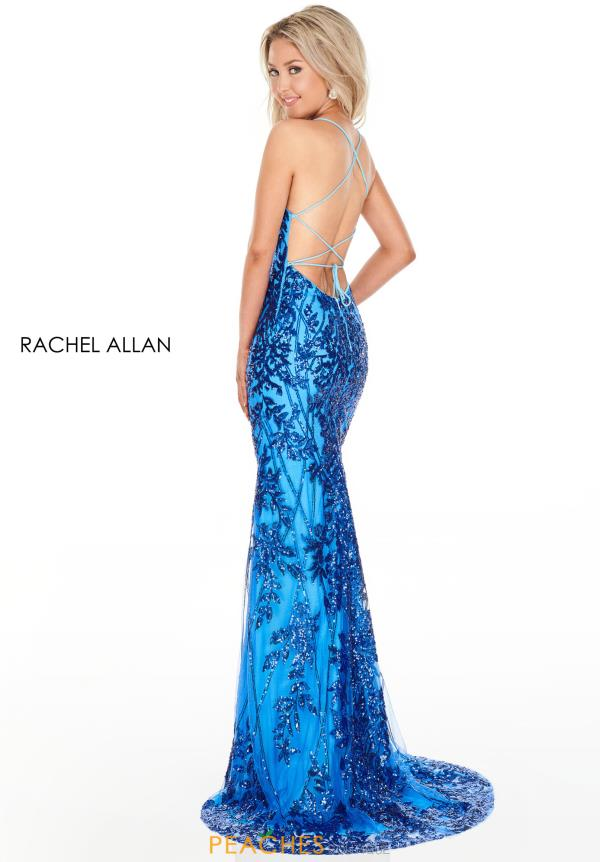 Rachel Allan Fitted Sequins Dress 7093