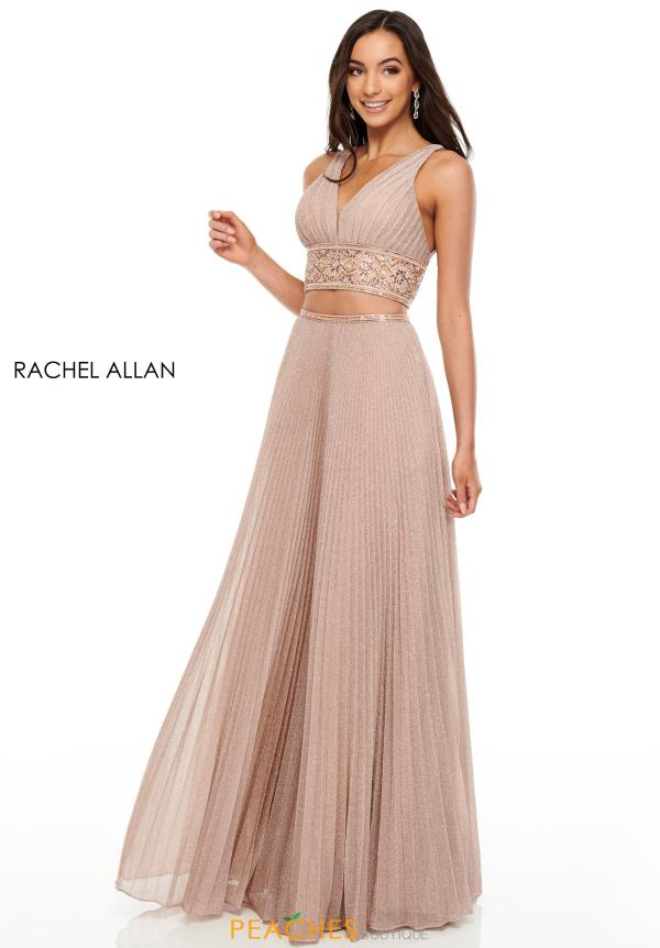 Rachel Allan Two Piece A Line Dress 7099