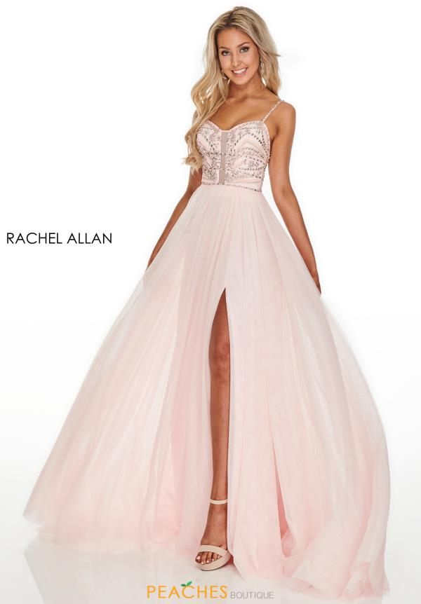 Rachel Allan Beaded Sweet Heart Dress 7152