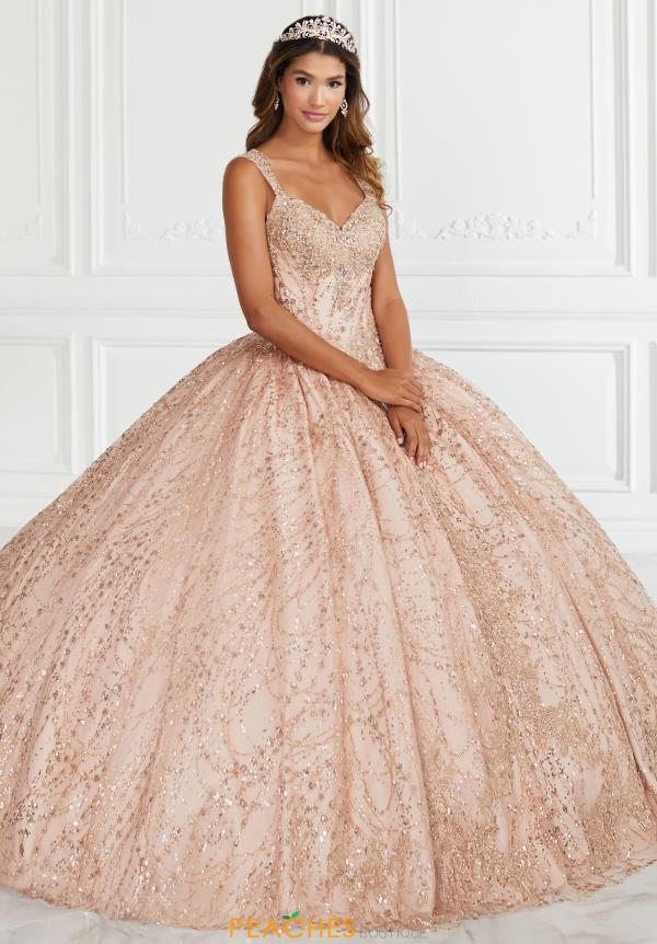 Tiffany Quinceanera Beaded Tulle Gown 56387