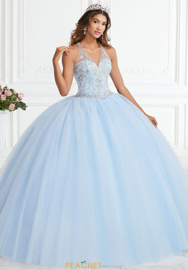 Tiffany Quinceanera Tulle Beaded Gown 56394