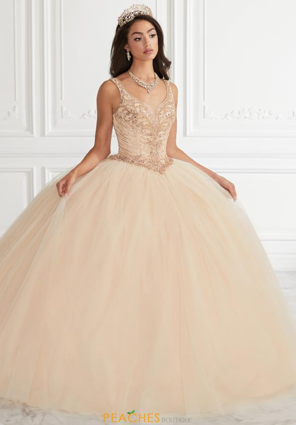 Tiffany Quinceanera Tulle Corcet Gown 56396