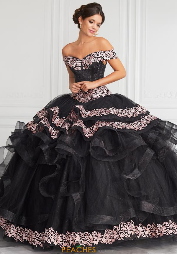 Tiffany Satin Ball Gown Quinceanera Gown 24062