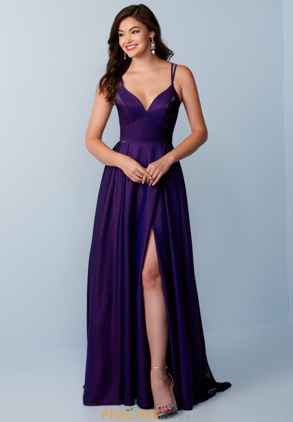 Splash Sexy Back Long Dress K351