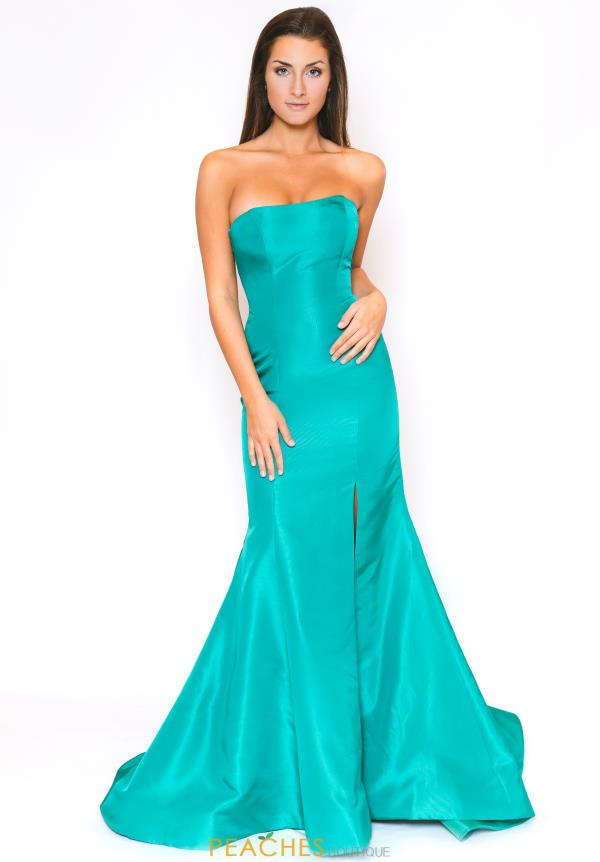 Sherri Hill Sexy Back Mermaid Dress 53341