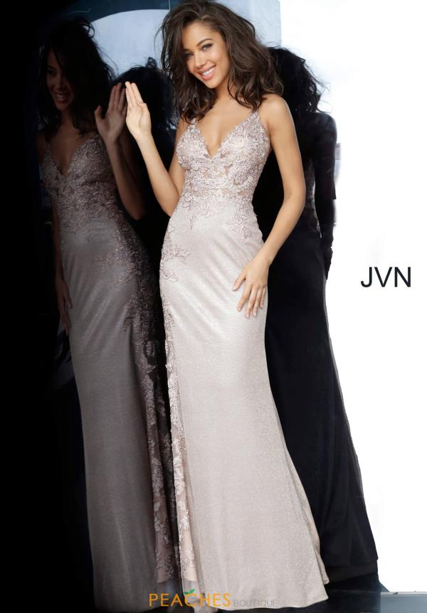 JVN by Jovani Long Beaded Dress JVN2205