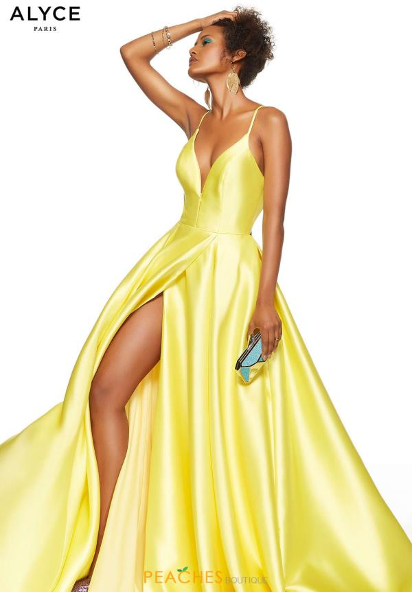 Alyce Paris Long A Line Dress 60706