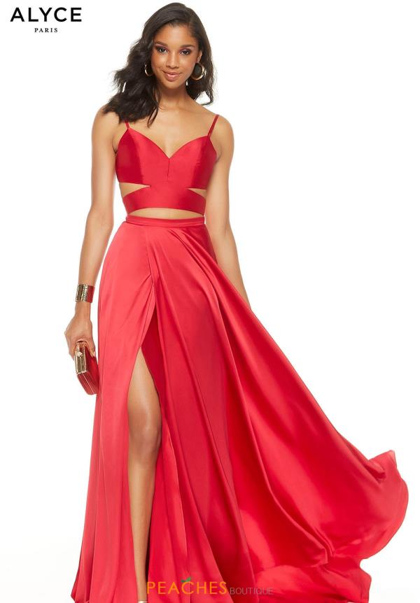 Alyce Paris Long Two Piece Dress 60776
