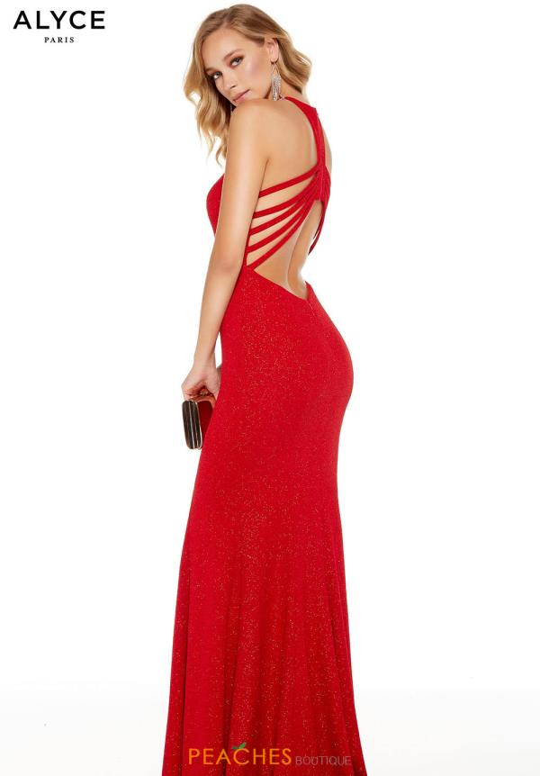 Alyce Paris Open Back Fitted Dress 60797