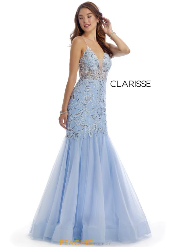 Clarisse Beaded Mermaid Dress 5129