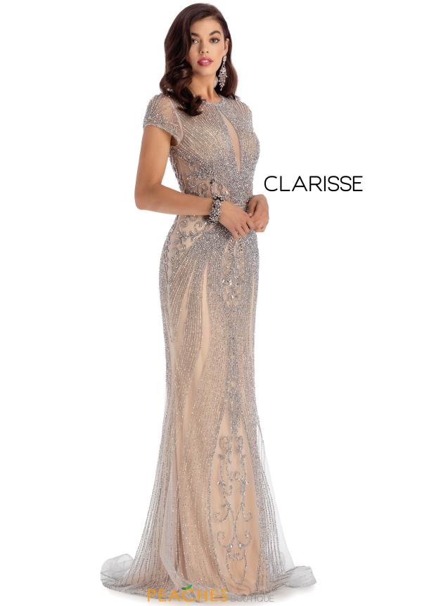 Clarisse Beaded Long Dress 5161