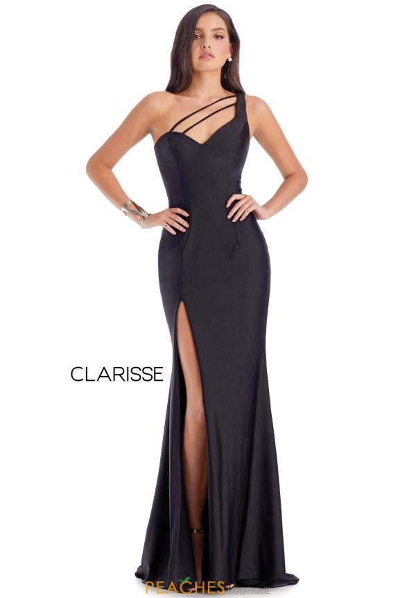 Clarisse Long Fitted  Dress 8041