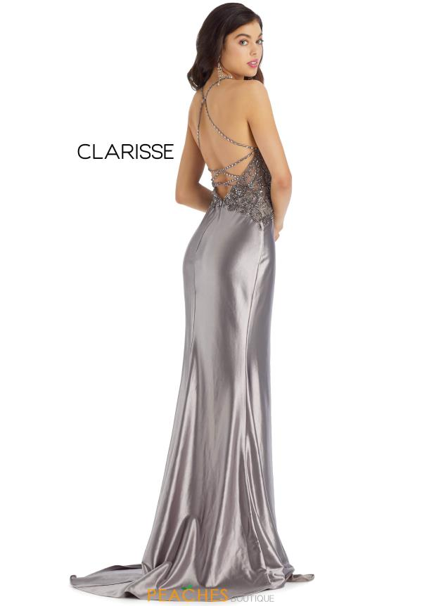 Clarisse Beaded Fitted Dress 8061