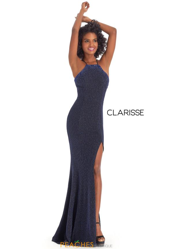 Clarisse Long Halter Dress 8109