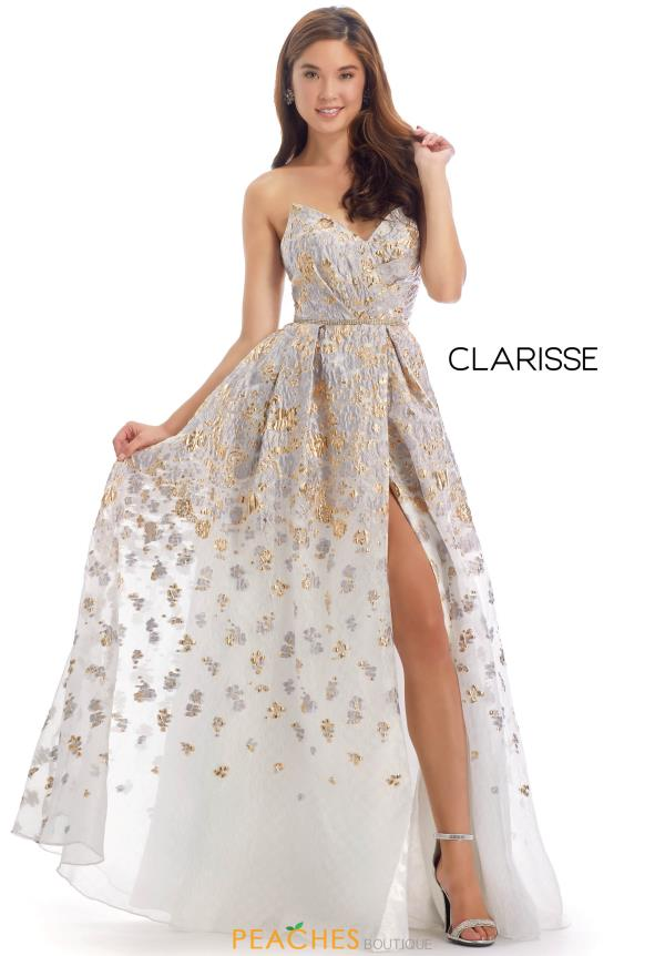 Clarisse Sweetheart Beaded Dress 8135