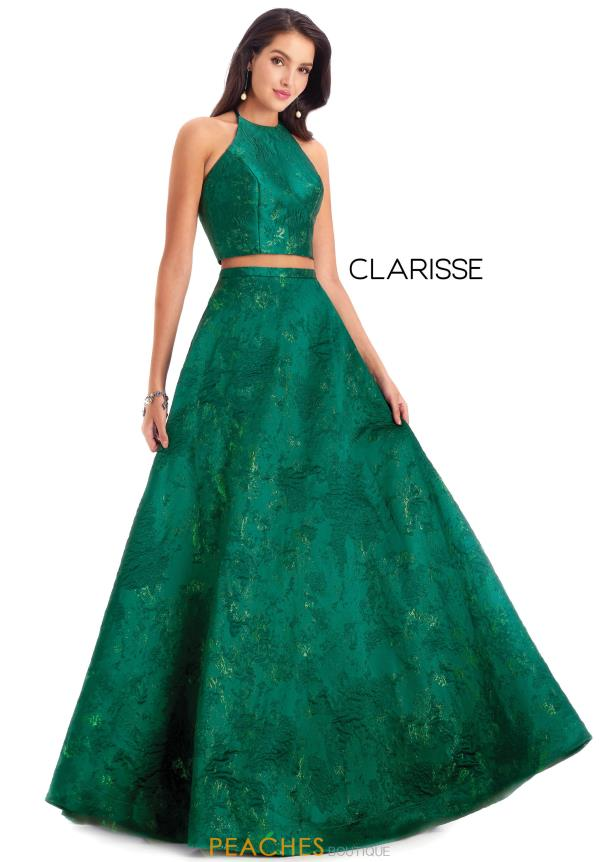 Clarisse Long Two Piece Dress 8229