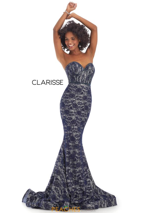Clarisse Beaded Lace Dress 8242