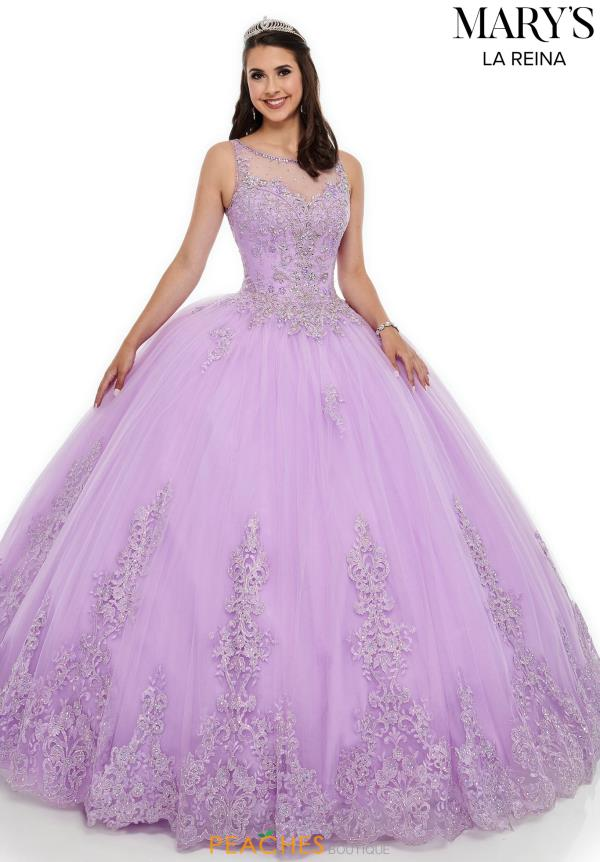 Mary's Beaded Ball Gown Dress MQ2097