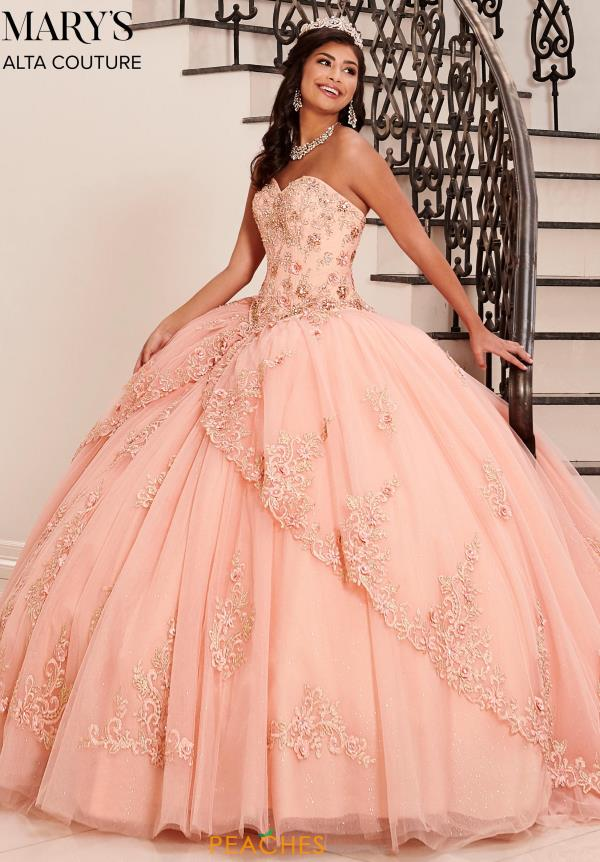 Mary's Sweetheart Applique Ball Gown MQ3042