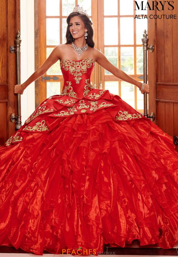 Mary's Strapless Beaded Ball Gown MQ3049