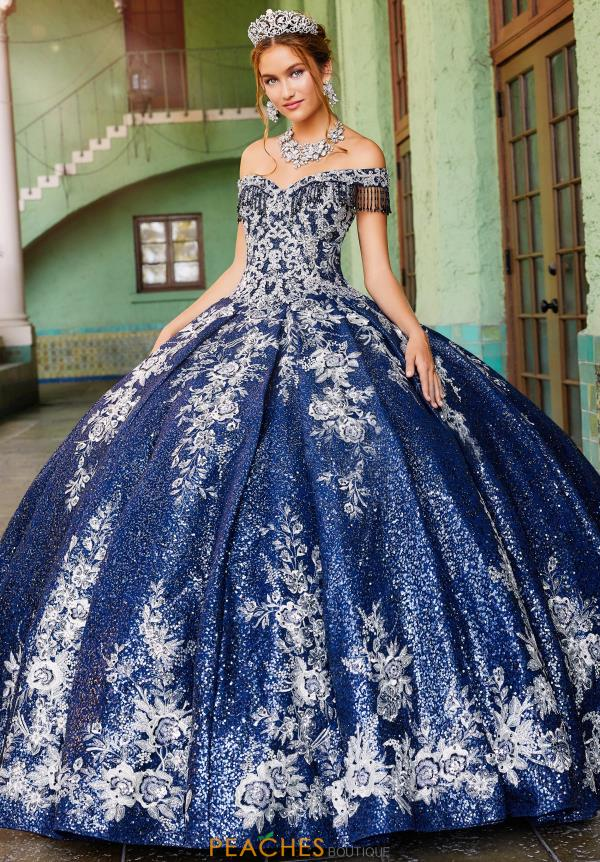 Princesa Off the Shoulder Ball Gown PR12001