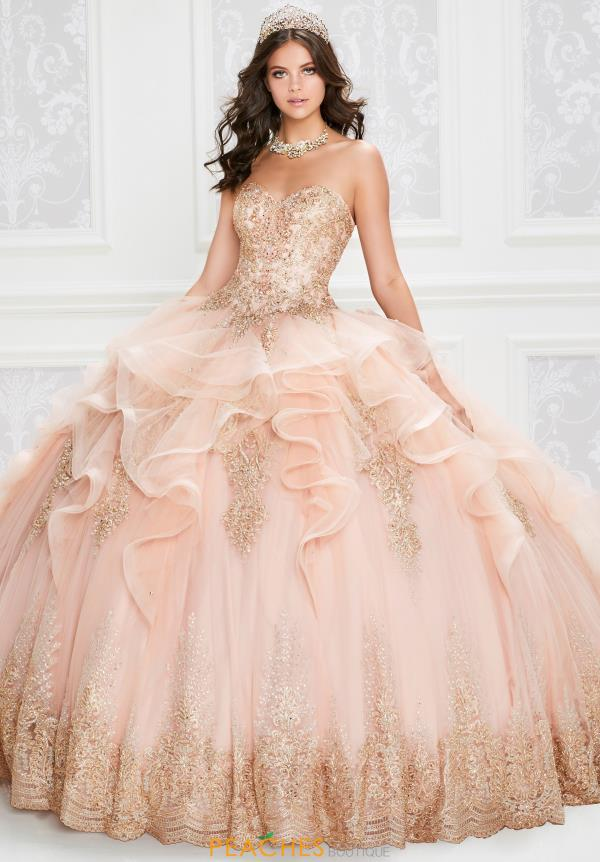 Princesa Strapless Ball Gown PR12011
