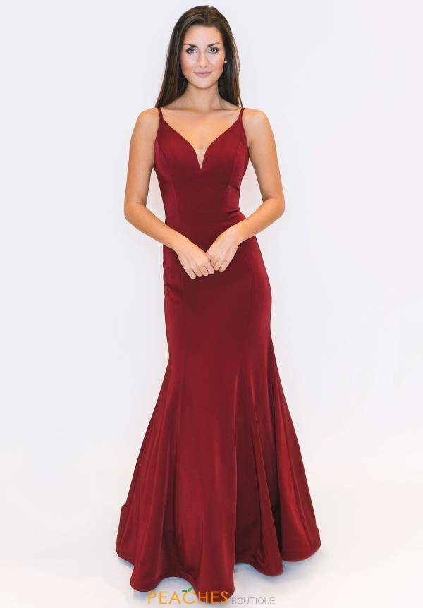 Dave and Johnny Fitted Sweetheart Dress 3139