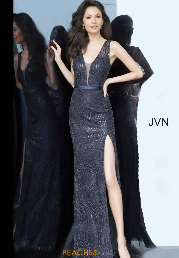 JVN by Jovani Beaded Fitted Dress JVN01012