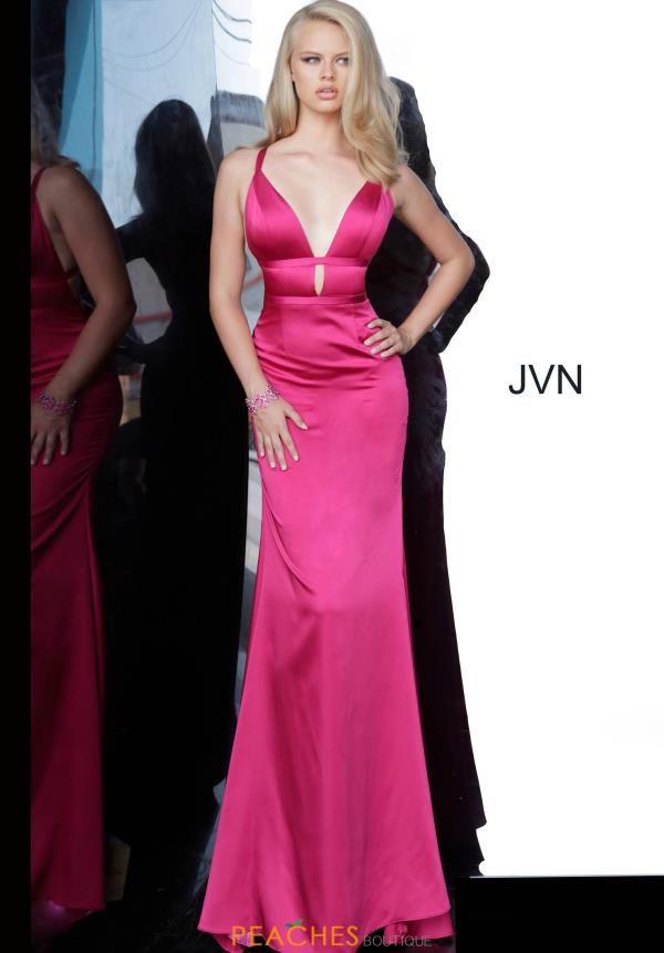 JVN by Jovani Sexy Back Fitted Dress JVN02044