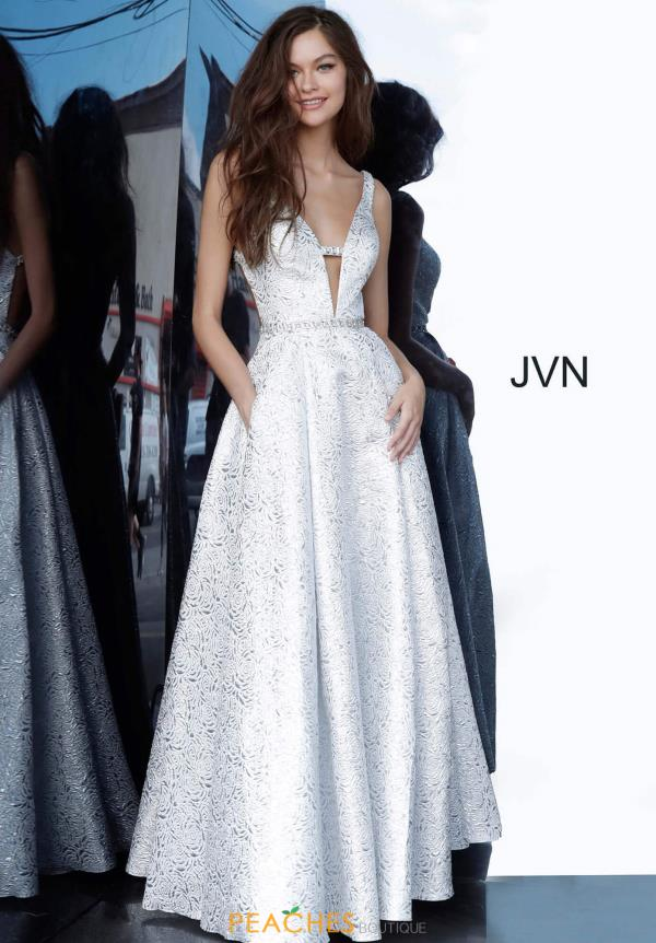 JVN by Jovani Open Back Long Dress JVN02263