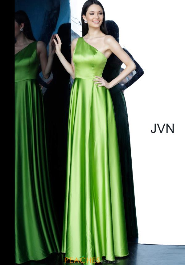 JVN by Jovani Single Shoulder Satin Dress JVN1766