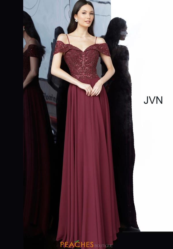 JVN by Jovani Off the Shoulder Dress JVN2157