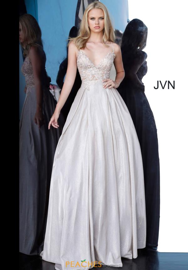 JVN by Jovani Lace A Line Dress JVN2206