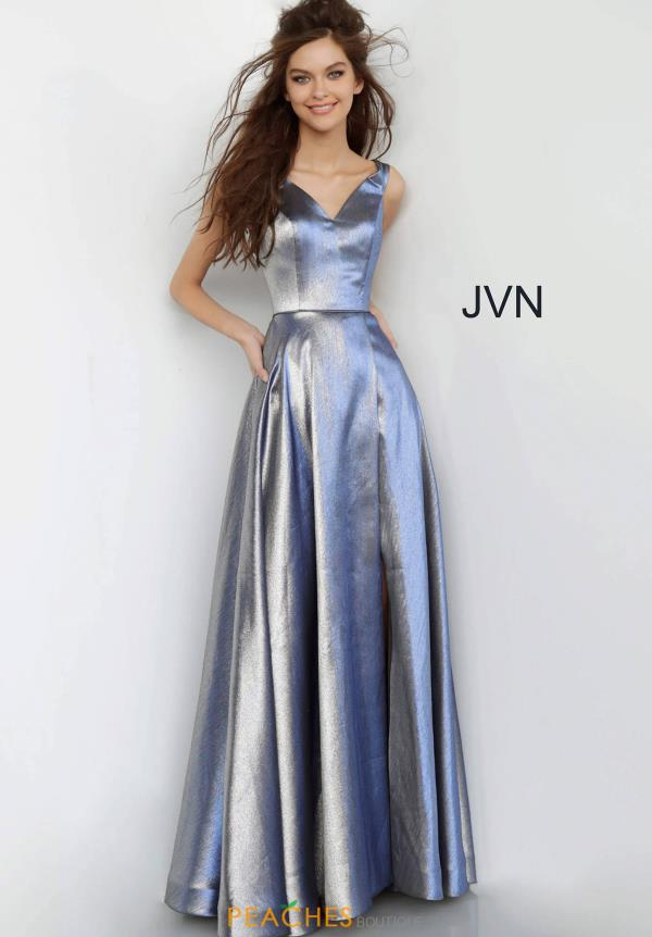 JVN by Jovani A Line Long Dress JVN3777