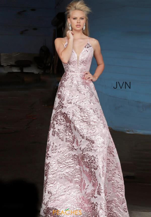 JVN by Jovani Sexy Back Long Dress JVN3820