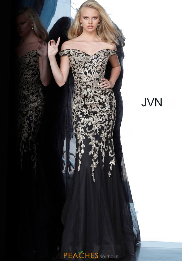 JVN by Jovani Sweetheart Fitted Dress JVN3907